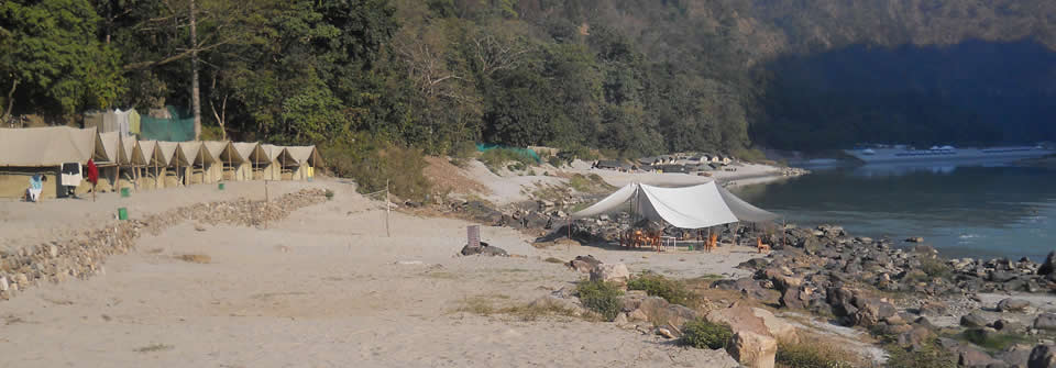 Jungle Beach Camp, Rishikesh Rs. 2150